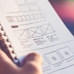 An infographic on web design