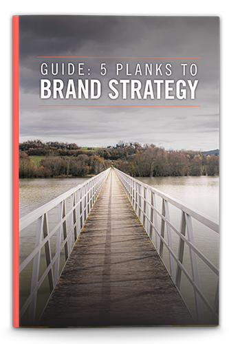 5 Planks to Brand Strategy ebook