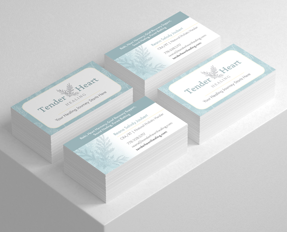 Langley Branding Case Study for Tender Heart Healing