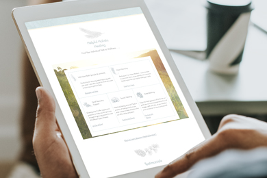 Langley Branding and Web Design Case Study for Tender Heart Healing
