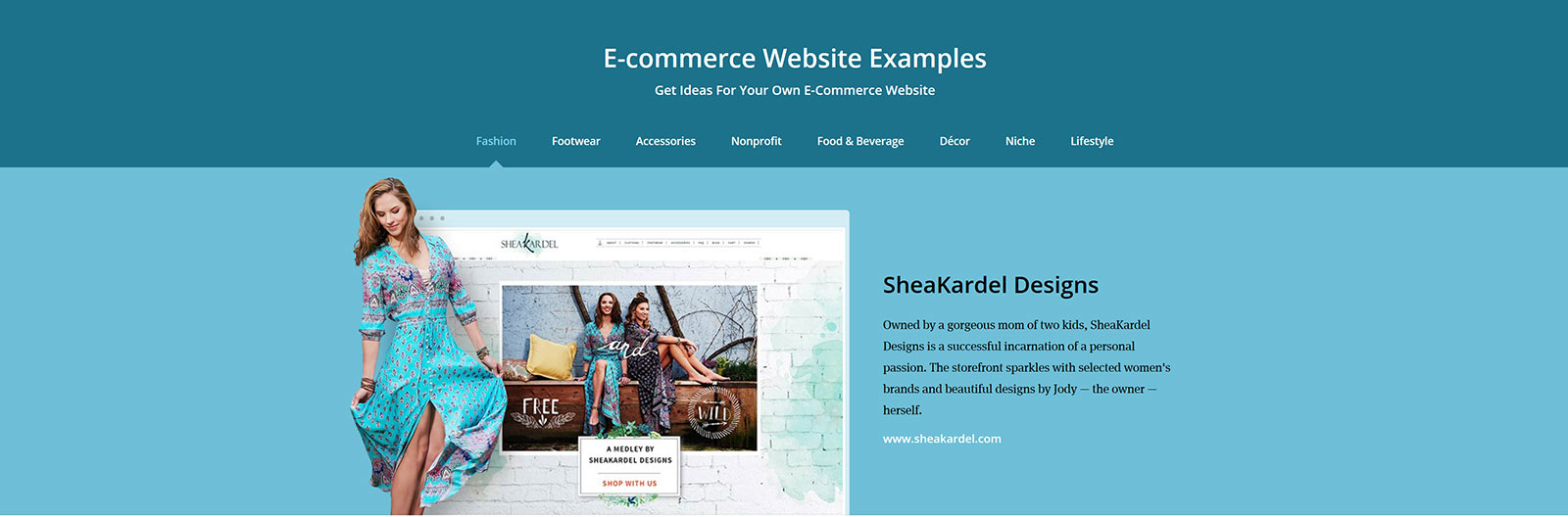 Ecwid features Original Ginger client Sheakardel | Online Shopping Cart Integration