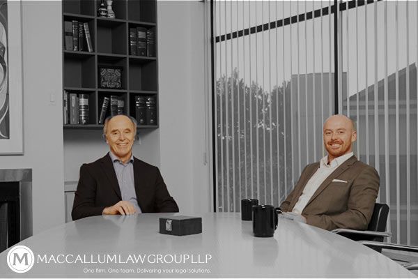 MacCallum Law Group Langley Web Design and Branding Project  | by Original Ginger