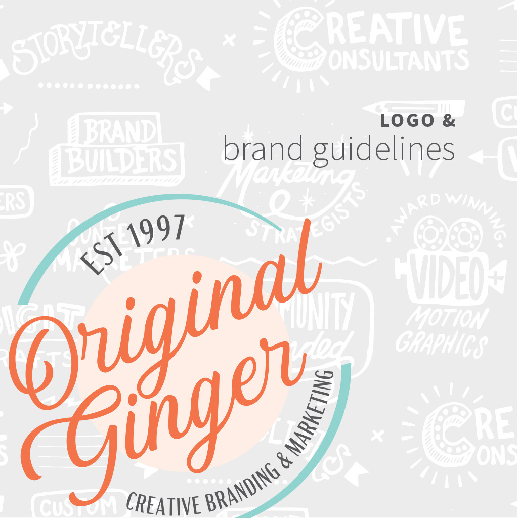 Brand Strategy Gallery Logo and Brand Guide