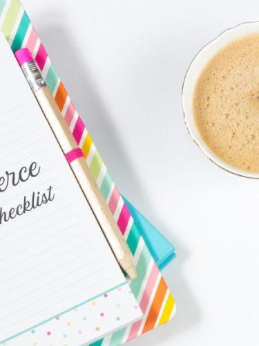 E-commerce Launch Checklist Masthead Image