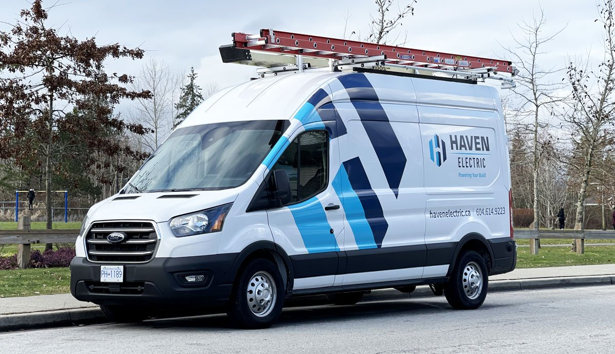 Langley Vehicle Wrap Design & Branding for Haven Electric Case Study