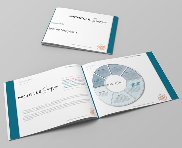 Brand Discovery and Guidelines | Case Study for Michelle Simpson