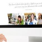 Surrey Web Design Project for New Light Leadership