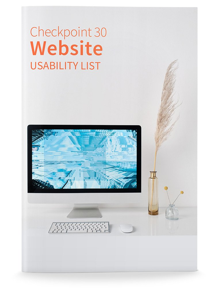 Checkpoint 30 Website Usability List